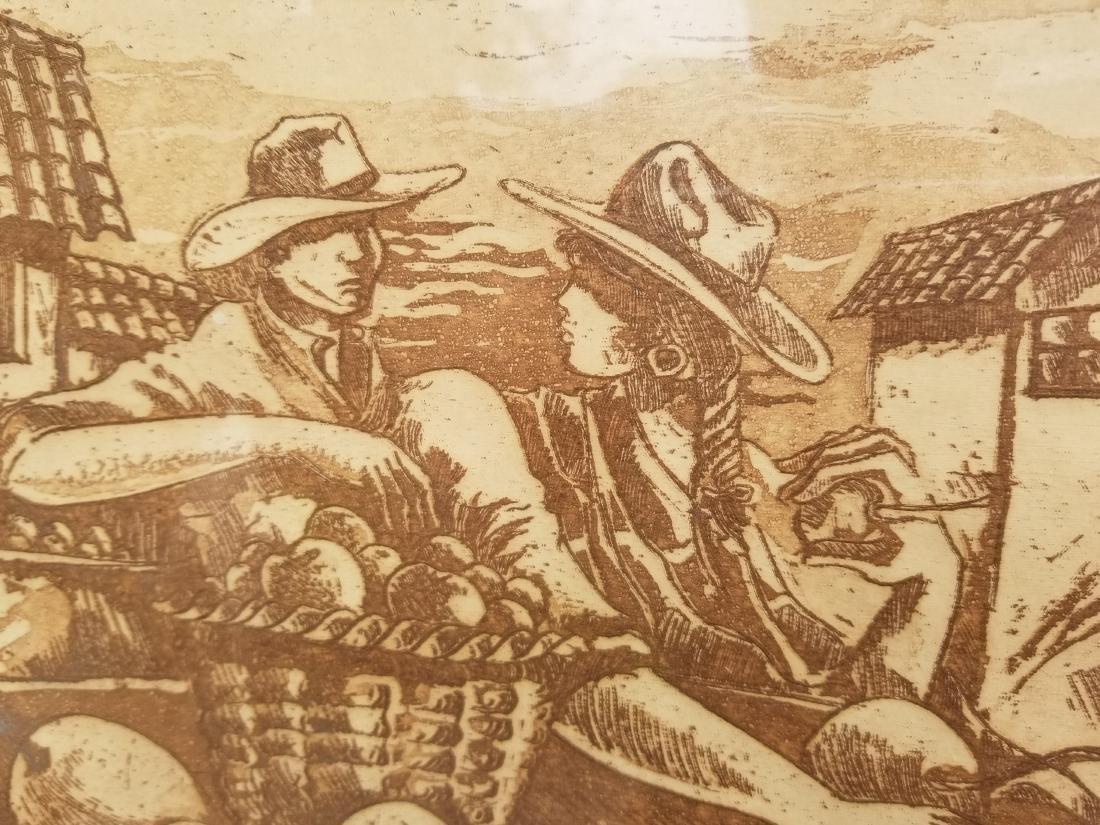 Ruben Monsalve Original Engraving Signed And Numbered - 4