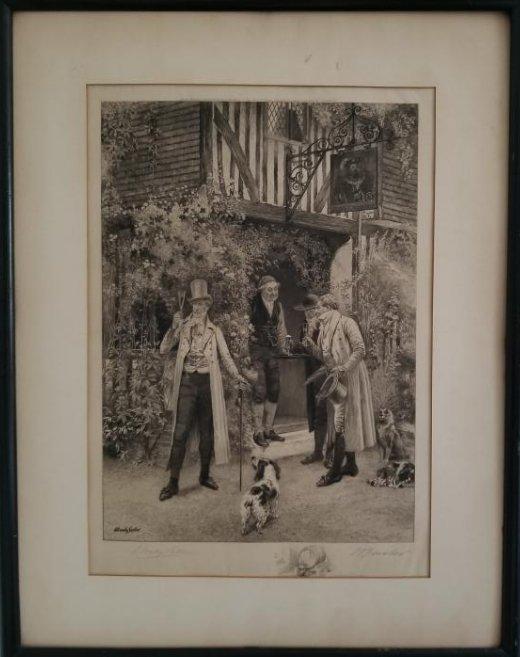 Engraving W Dendy Sandler 1890