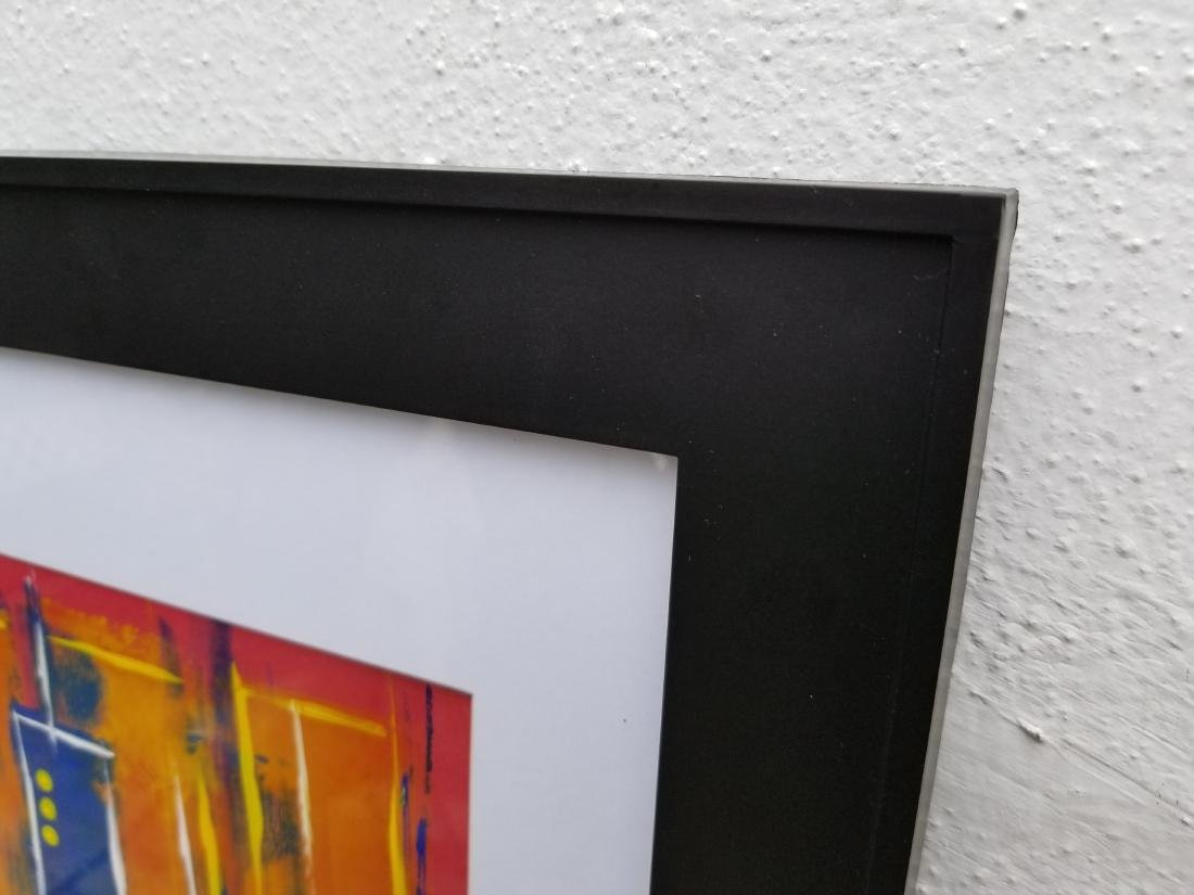 Original Abstract Contemporary Painting On Paper - 3