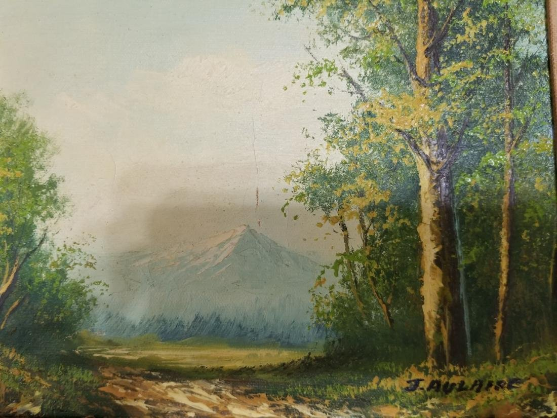 J. Aulaire Vintage Oil Painting - 2
