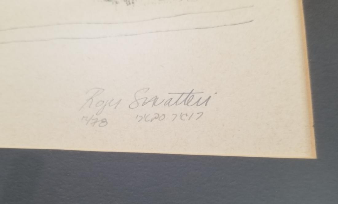 Original Engraving Jerusalem -Roger Savaterri- - 2