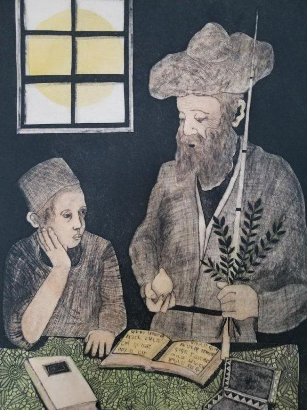 Amram Ebgi-Lithograph Signed/Nembered - 2