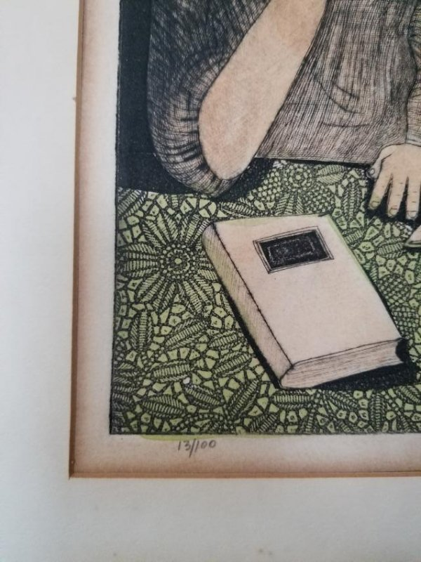 Amram Ebgi-Lithograph Signed/Nembered - 4