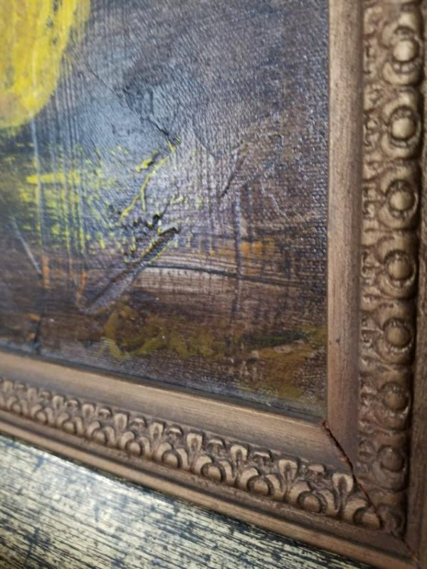 Original Painting On Canvas Signed by the Artist - 4