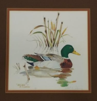 Robert Fleming Hand Signed And Numbered Artwork