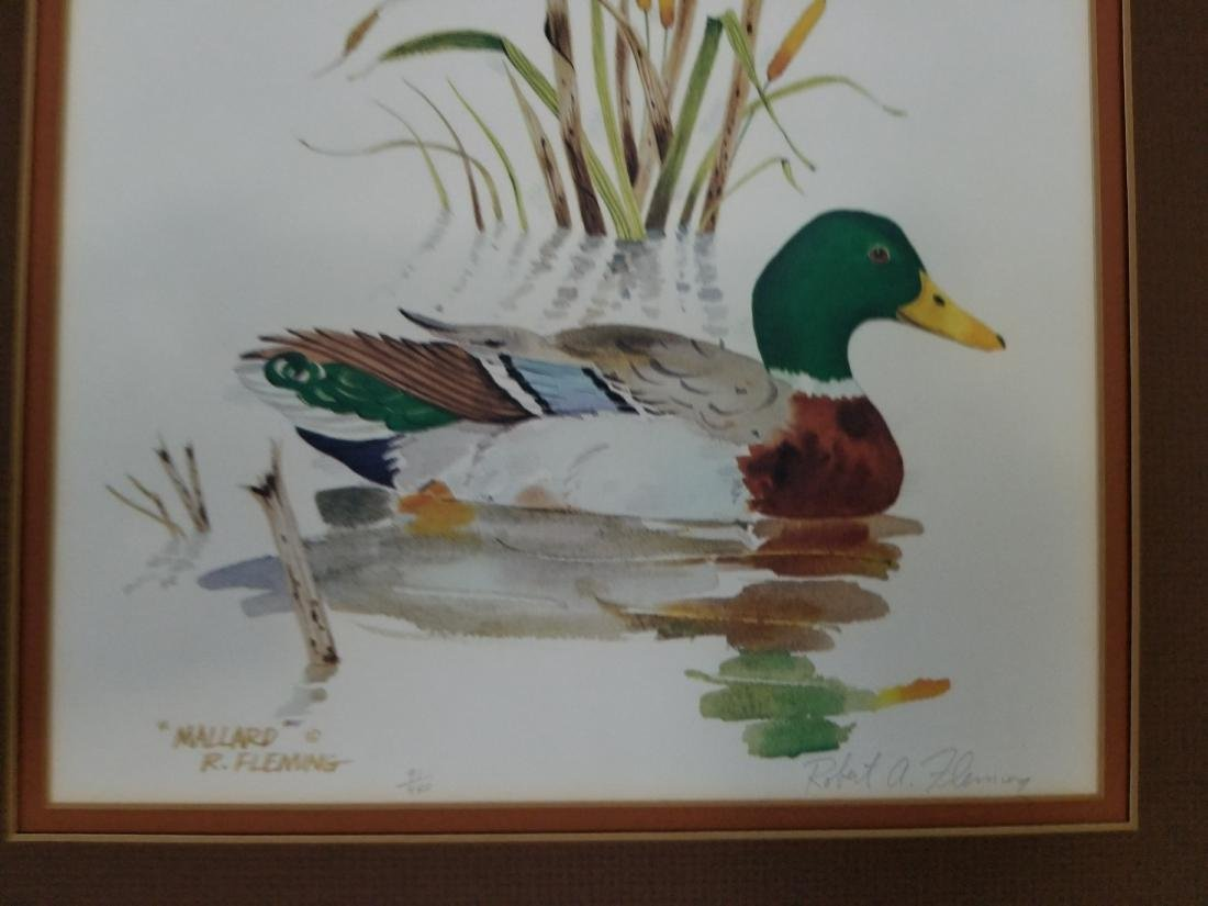 Robert Fleming Hand Signed And Numbered Artwork - 2