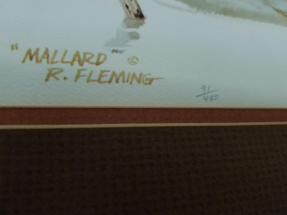 Robert Fleming Hand Signed And Numbered Artwork - 4