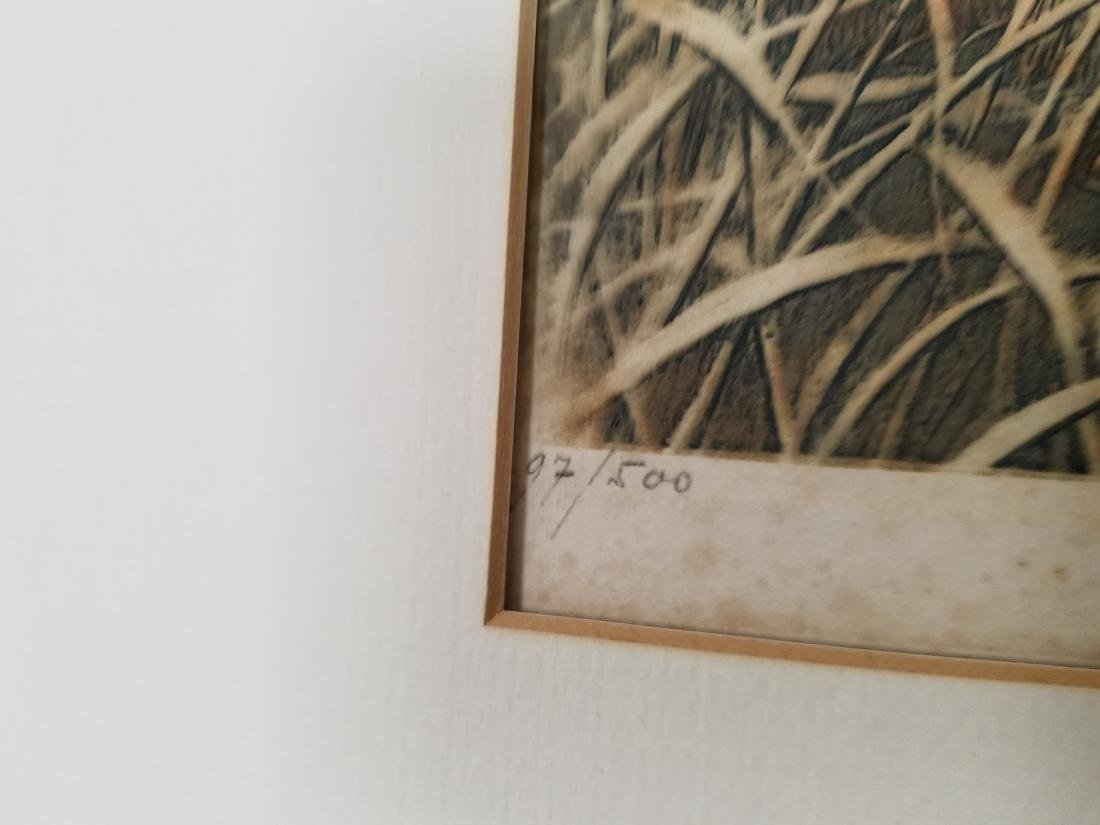 Leon Danchin Original Etching Signed - 4
