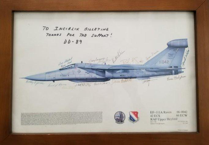 EF-111A Raven 42 ECS RAF Upper Heyford Print Hand