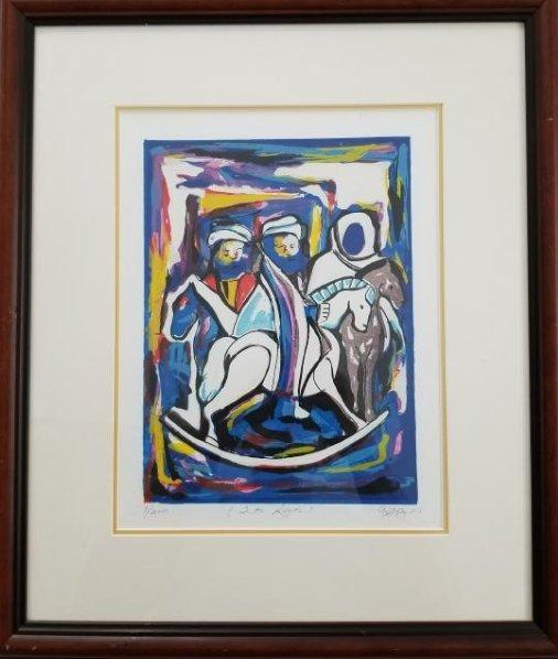 Original Art -Los Tres Reyes- Limited edition