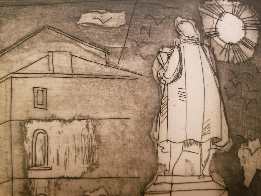 Irving Amen Original Lithograph - 5