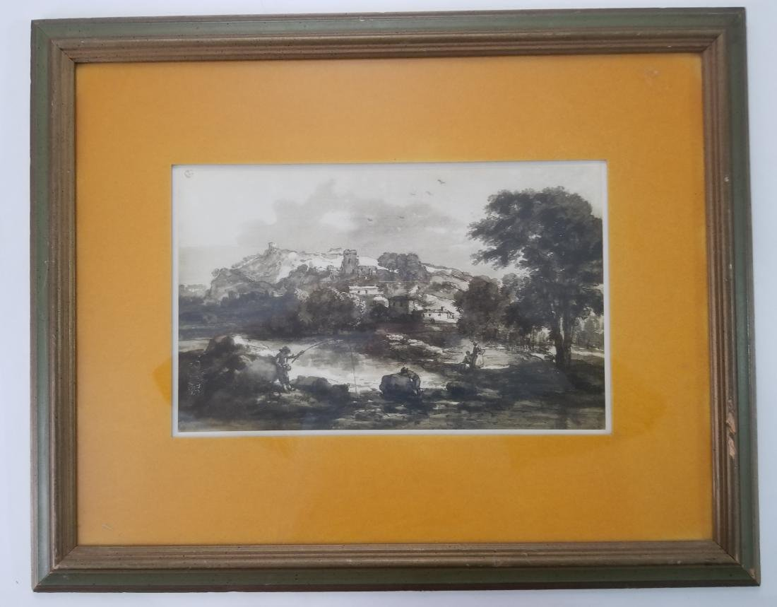 Original Rare Lithograph Signed