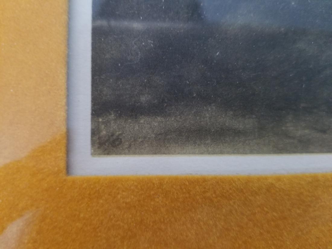 Original Rare Lithograph Signed - 3