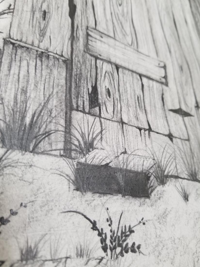 Original Pencil Drawing Signed - 4