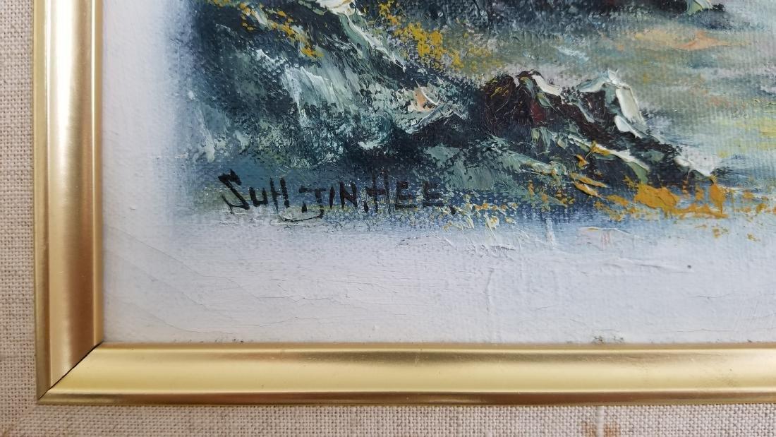 Vintage Oil Painting-Suh Jin Hee - 2