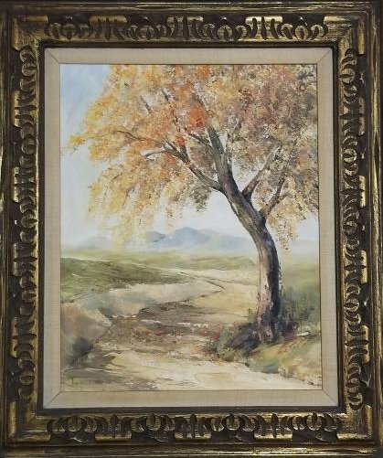 Original Oil Painting Signed Frances Hancock