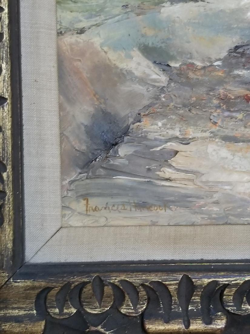 Original Oil Painting Signed Frances Hancock - 2