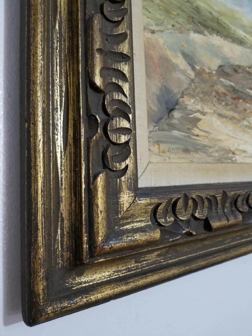 Original Oil Painting Signed Frances Hancock - 3