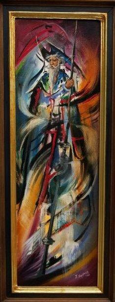 Original Acrylic Painting By Artist Juan Jose