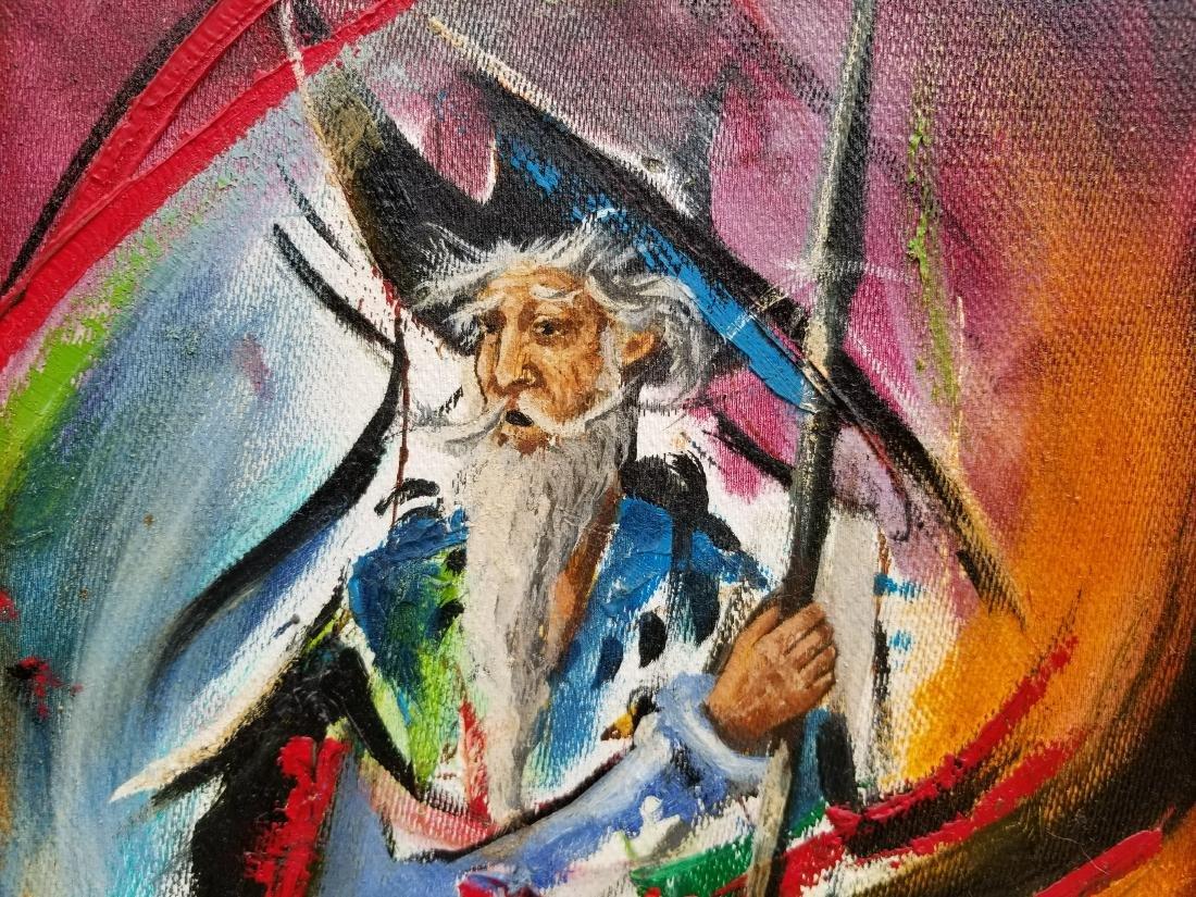 Original Acrylic Painting By Artist Juan Jose - 2