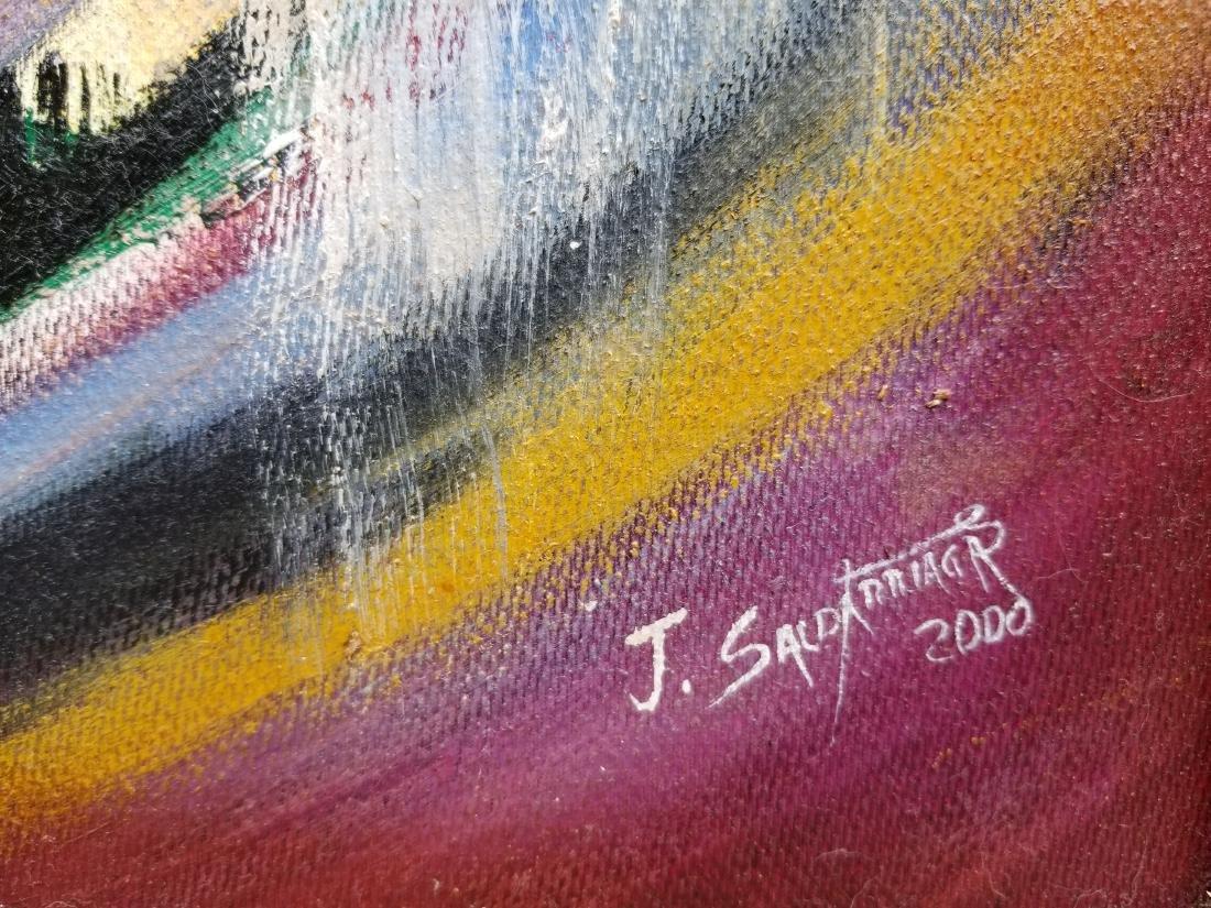 Original Acrylic Painting By Artist Juan Jose - 3