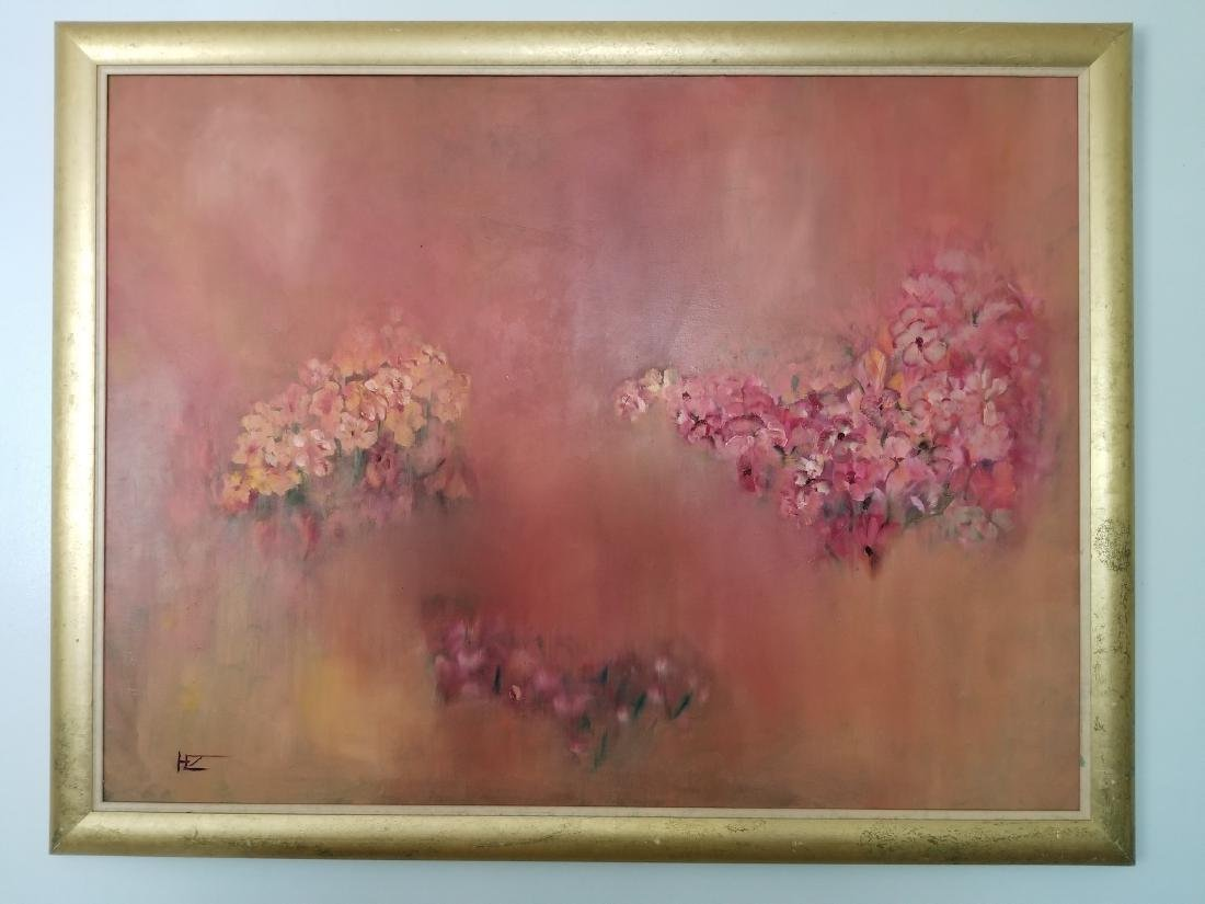 Original Abstract Painitng Signed By the Artist