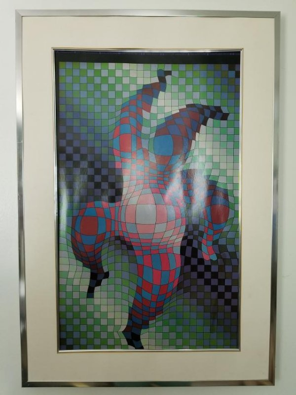 Harlequin By Victor Vasarely-Gallery One- San Francisco