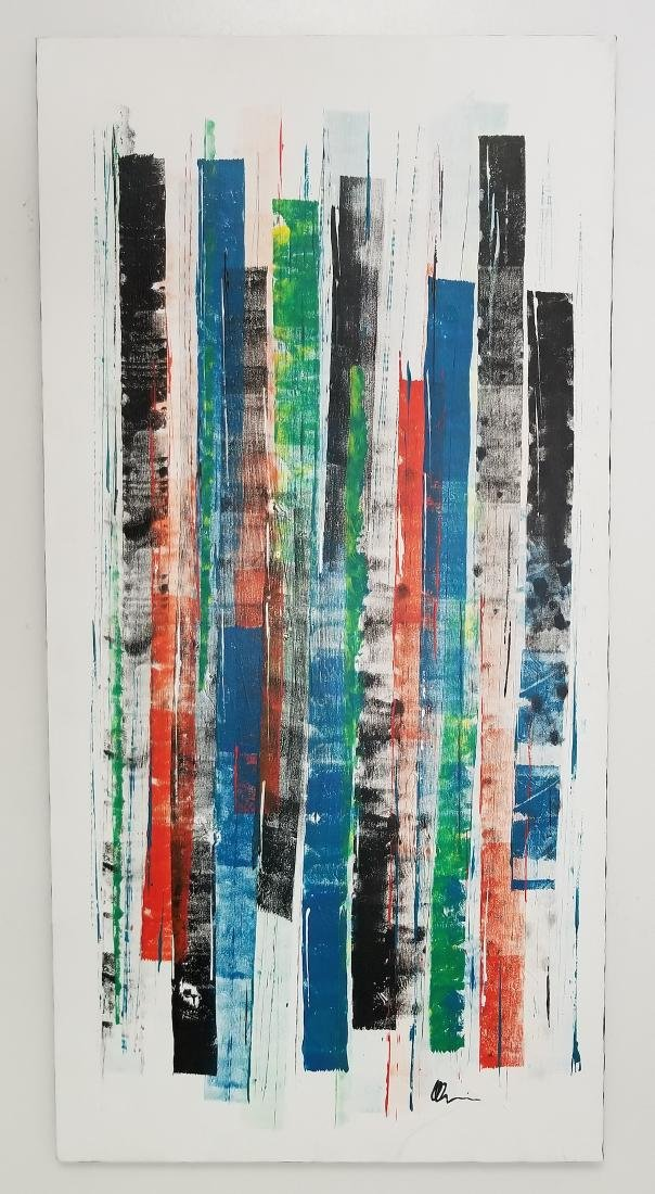 Original Abstract Painting Signed