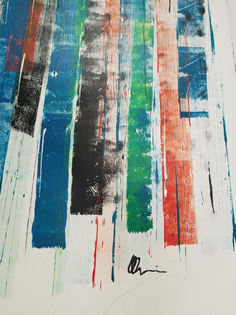 Original Abstract Painting Signed - 4