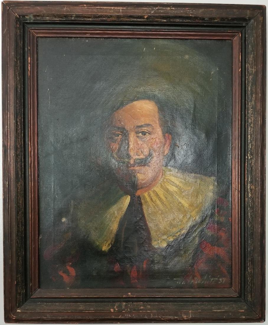 Vintage Painting Signed -Walt White'37-