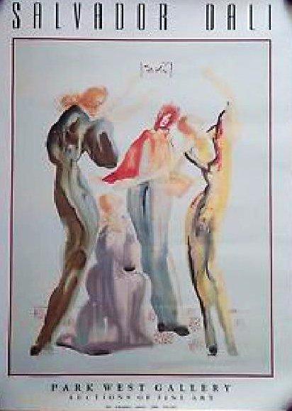 Salvador Dali Print -Park West Gallery-