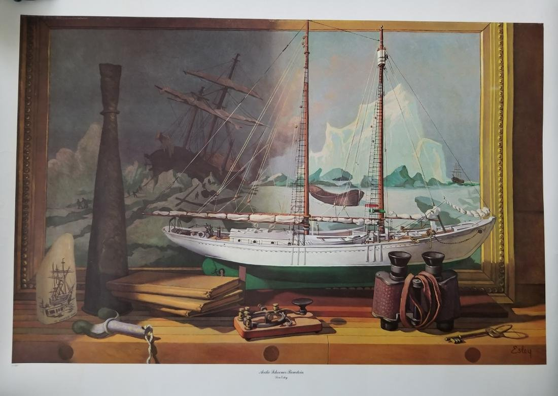 Vintage Print -Don Esley-