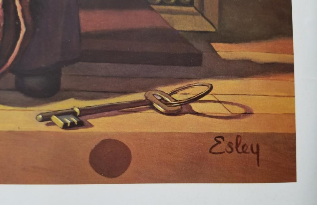 Vintage Print -Don Esley- - 4