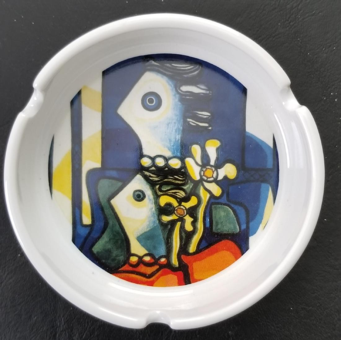 Ceramic Ashtray By Cuban Artist Amelia Pelaez