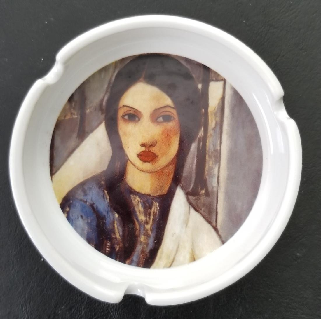 Ceramic Ashtray By Cuban Artist Victor Manuel Garcia