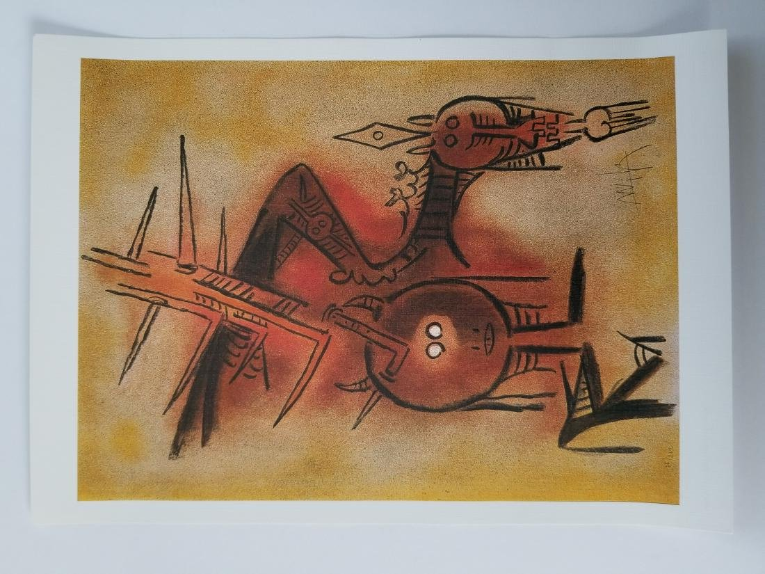 Wilfredo Lam High Quality Printing - 2