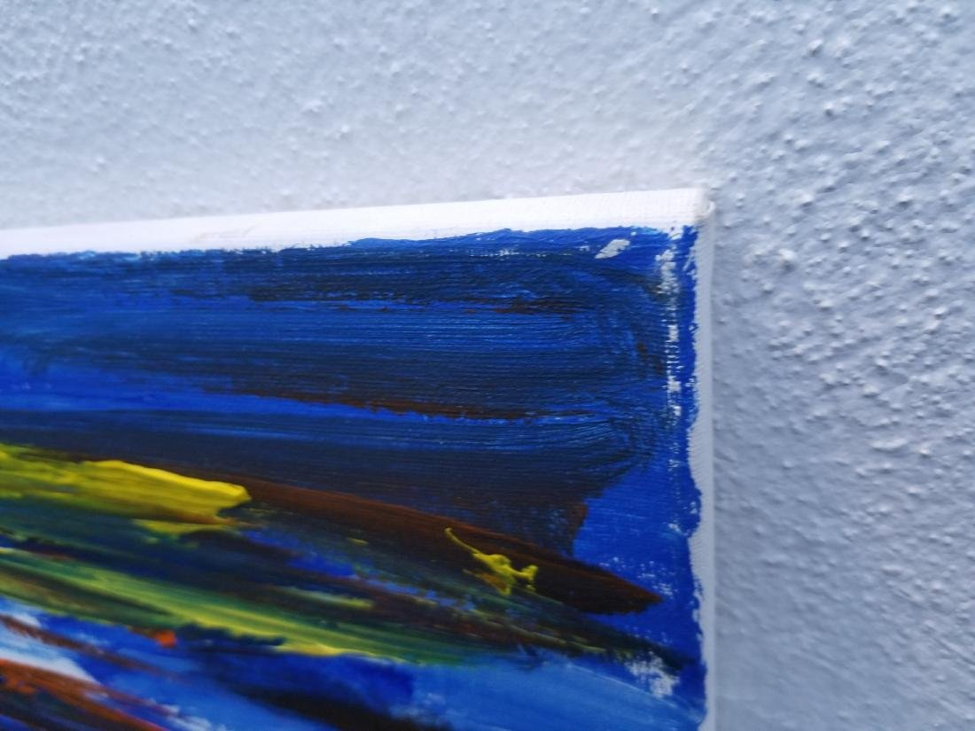 Original Acrylic painting on Canvas. Artist Working NYC - 4