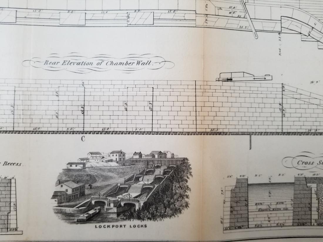 1860 Plan H-General Plan Of Enlarged Double Locks - 4