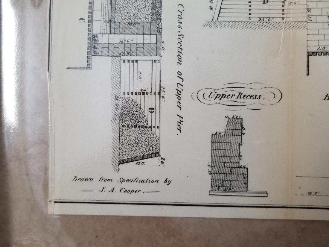 1860 Plan H-General Plan Of Enlarged Double Locks - 6
