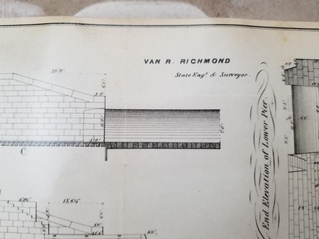 1860 Plan H-General Plan Of Enlarged Double Locks - 8