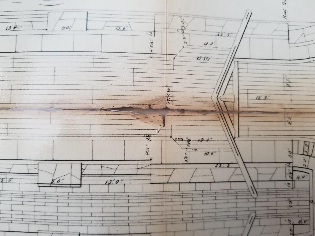 1860 Plan H-General Plan Of Enlarged Double Locks - 9