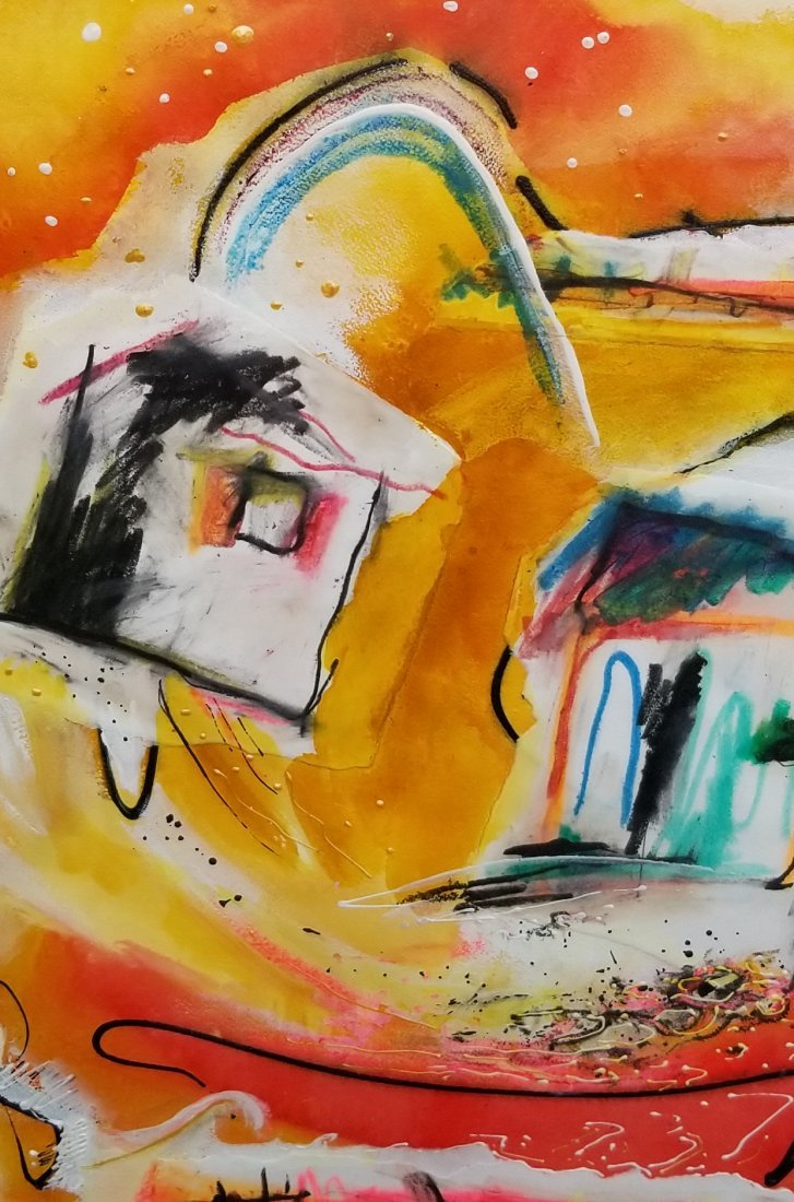 Original Abstract Painitng Signed