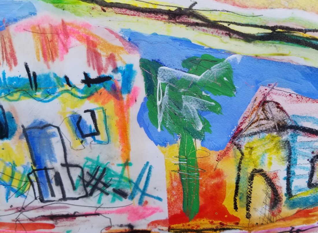 Original Abstract Painitng Signed - 2