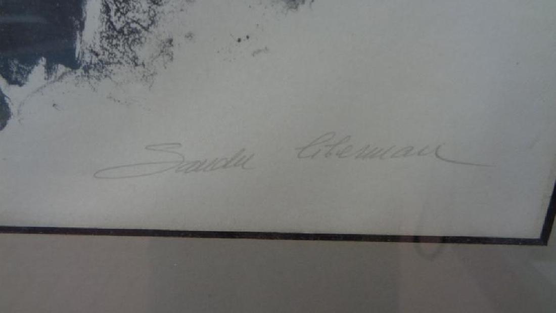 Original Vintage lithograph Signed S. Litterman 85/150 - 2