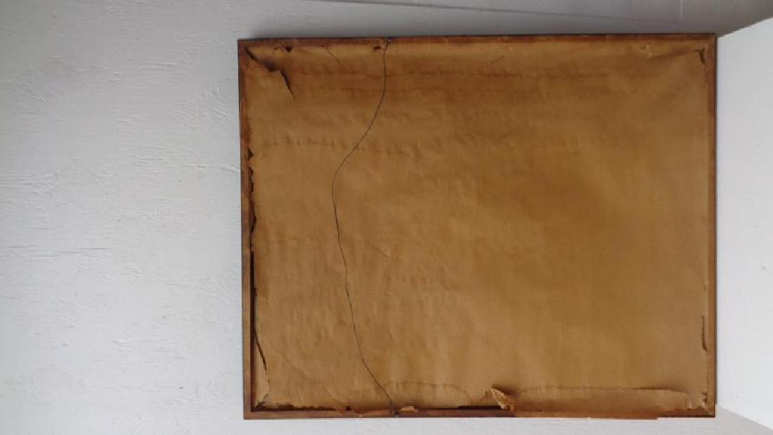 Original Vintage lithograph Signed S. Litterman 85/150 - 4