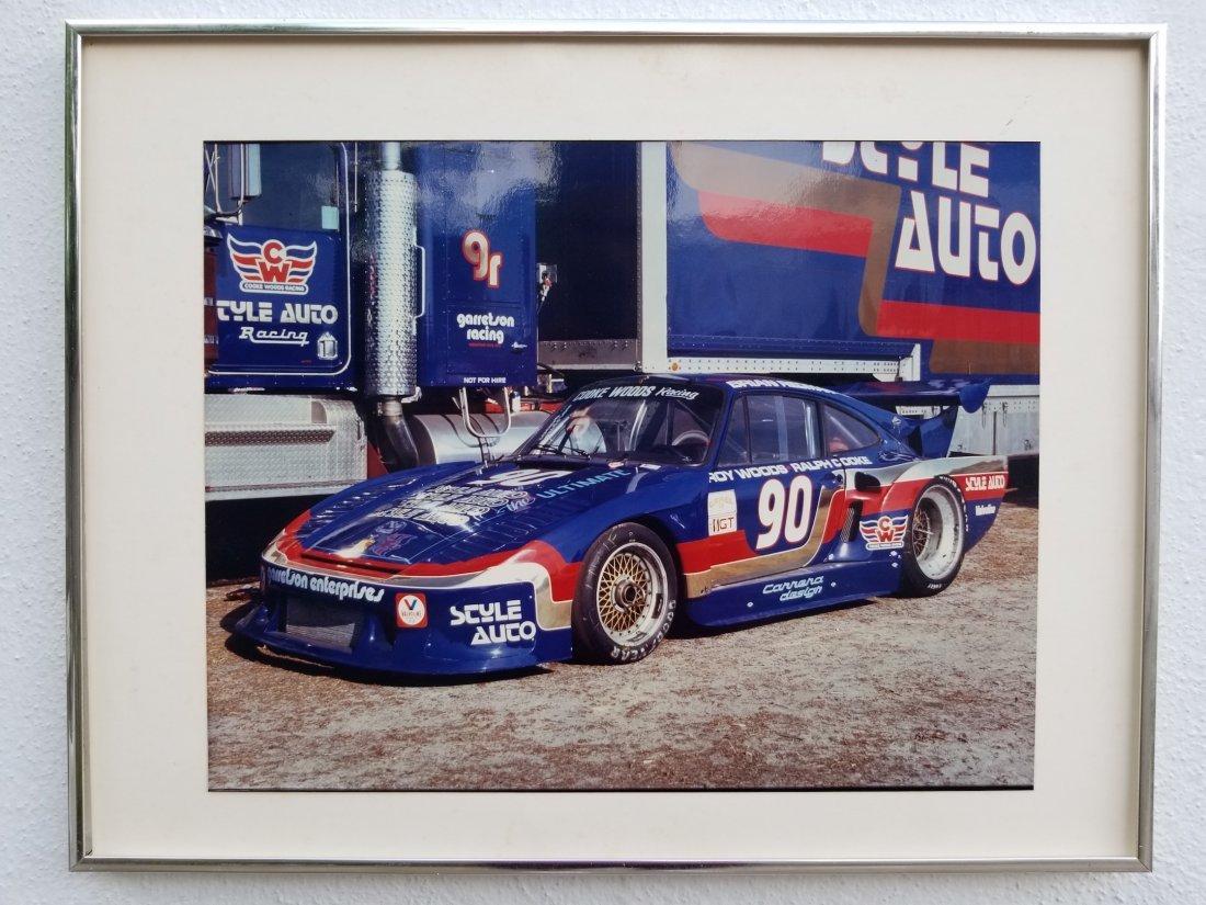 Original Sports Car Photography Framed