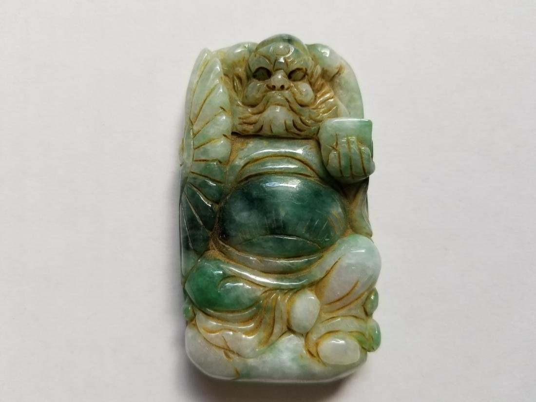 Chinese Exquisite Hand-carved mythology figure carving