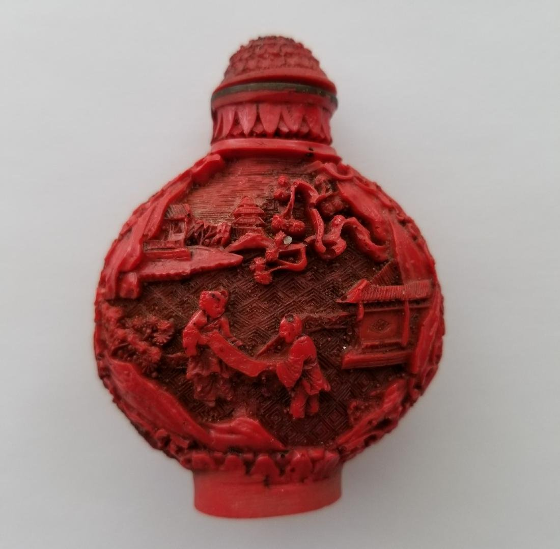 Chinese hand carved piece