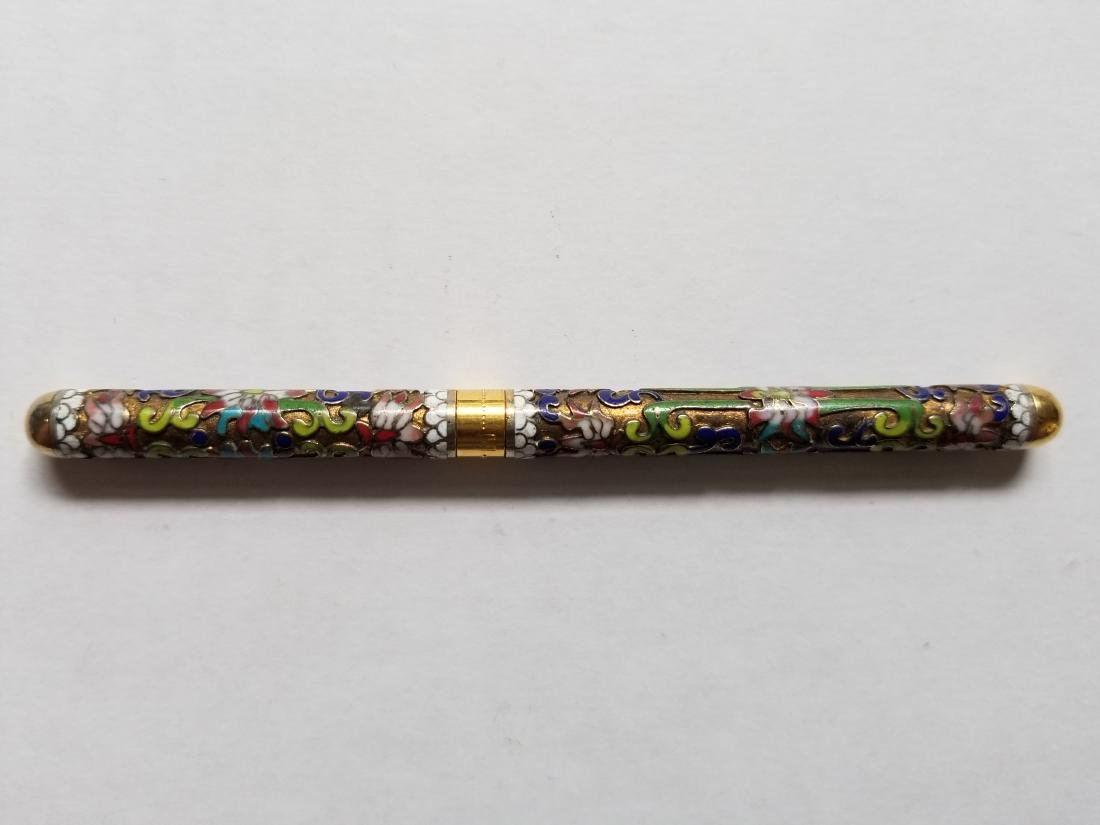 Chinese vintage carved pen - 2