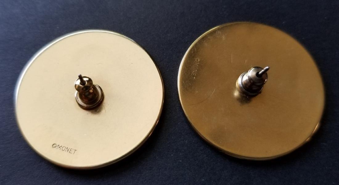 Vintage Monet Earrings - 2
